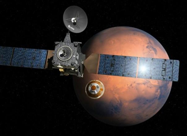 Mars: forte incertitude sur le sort de l'atterrisseur européen
