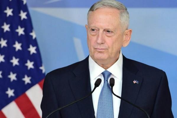 Le secrétaire américain à la Défense James Mattis