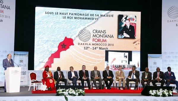 Dakhla, accueille le gotha mondial pour le prestigieux Forum Crans Montana