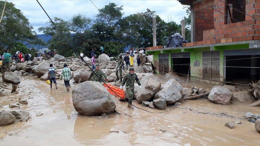 Colombie : Le bilan des inondations s'alourdit à 273 morts