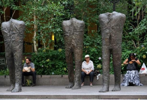 Disparition de la sculptrice polonaise Magdalena Abakanowicz