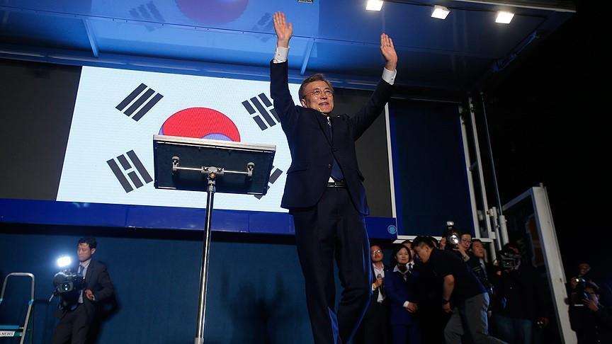 Corée du Sud – Présidentielle : Moon Jae-in annonce sa victoire