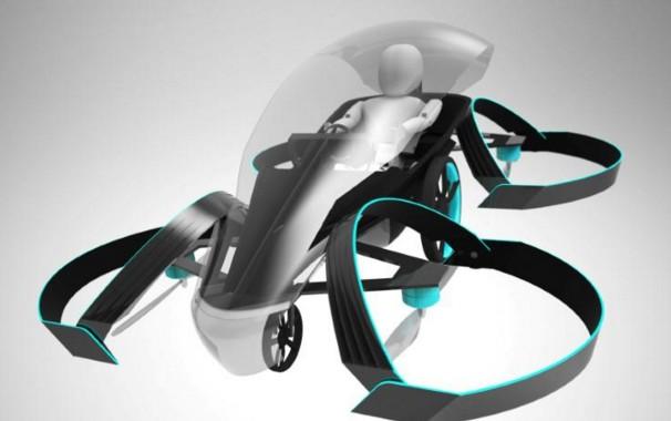 Toyota soutient un projet de voiture volante, 2020 en ligne de mire