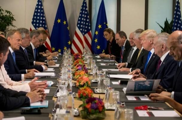 Les Européens interpellent Trump sur la Russie et les fuites après Manchester