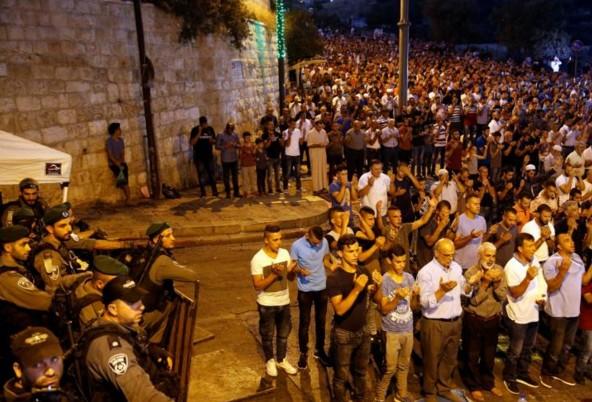 Jérusalem: les autorités musulmanes maintiennent le boycott de l'esplanade des Mosquées