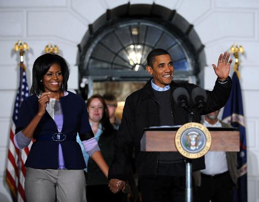 """50 ans pour Michelle Obama, """"First Lady"""" sans précédent"""
