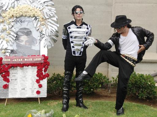 Etats-Unis: cinq ans après sa mort, le mausolée de Michael Jackson fleuri