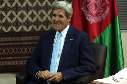 Kerry à Kaboul pour un nouveau coup de pouce à la présidentielle afghane