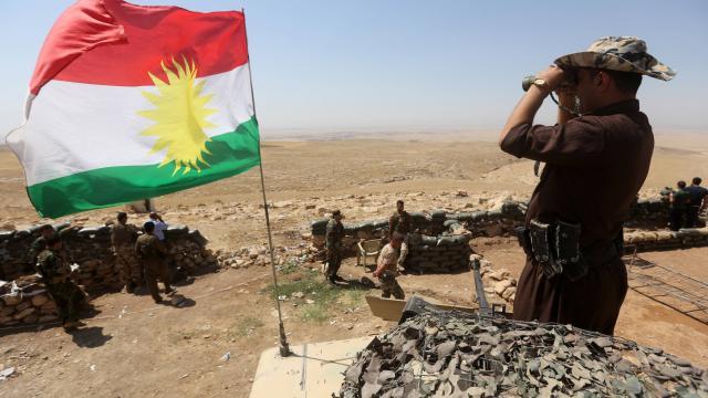 Offensive kurde contre l'Etat islamique dans le nord de l'Irak