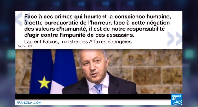 """Syrie : une enquête ouverte en France pour """"crimes de guerre"""""""