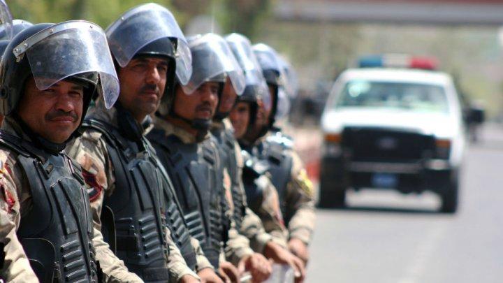 Des forces de sécurité irakiennes déployés à Bassora, dans le sud du pays (archives).