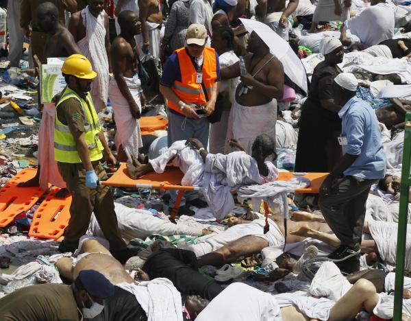 Le bilan de la bousculade de La Mecque s'alourdit à 1.849 morts