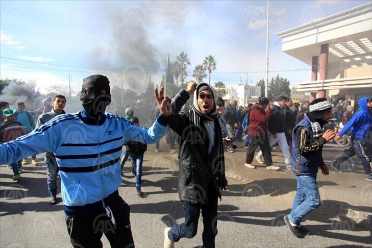 Tunisie - Malgré un couvre-feu, la colère des jeunes de Kasserine gronde encore