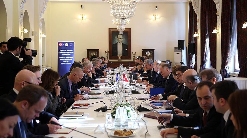 La réunion de dialogue politique Turquie - UE a commencé