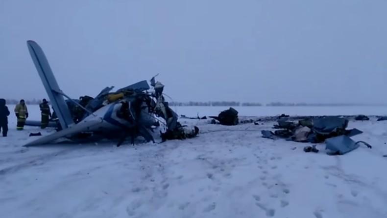 Russie: trois morts dans le crash d'un hélicoptère