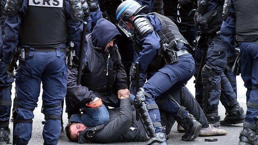France: Plus de mille interpellations en marge des manifestations contre la loi Travail