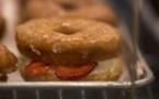 Beignets et hamburgers: les végétaliens fous de junk-food