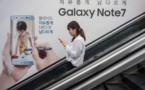 Fiasco du Galaxy Note 7: Samsung tente de tourner la page