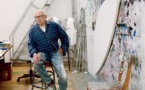 L'artiste Ellsworth Kelly, 90 ans, à la Phillips Collection de Washington