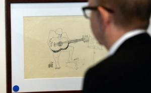"""Un croquis de Lennon pour la pochette de """"Sgt. Pepper's"""" aux enchères"""