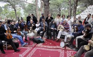 """""""Nzaha"""" de la musique andalouse: quand la magie du chant se marie à la beauté de la nature"""