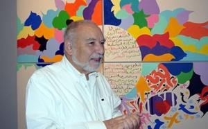 De la plume au pinceau, une autre facette de Tahar Benjelloun dévoilée à l'occasion d'une exposition au siège de l'IMA à Paris