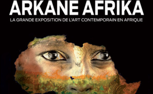 "Vernissage à Casablanca de l'exposition ""Arkane Afrika"""