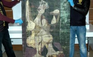 Tableau saisi en Turquie: un faux, selon Picasso Administration
