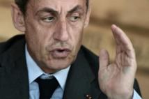 """Sarkozy: """"Les barbares nous attaquent"""" parce qu'ils """"croient que nous sommes faibles"""""""