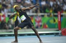 """JO-2016: """"L'éclair"""" Bolt a frappé une troisième fois à Rio"""