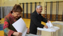 """Le parti """"Russie unie"""" au pouvoir, en tête aux législatives après un décompte préliminaire"""