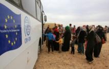 La Jordanie va autoriser la livraison d'aide à 75.000 Syriens bloqués