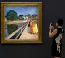 """Les """"Filles sur le pont"""" de Munch vendu 54,5 millions de dollars"""