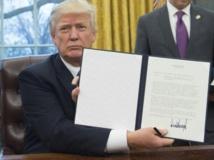 Etats-Unis: Trump porte un coup d'arrêt au libre-échange d'Obama