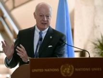 """Le Conseil de sécurité appelle à participer """"sans condition préalable"""" aux pourparlers de Genève sur la Syrie"""
