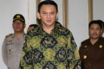 Blasphème: sursis requis contre le gouverneur chrétien de Jakarta