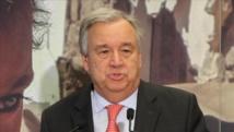Guterres: le retrait des Etats-Unis de l'accord de Paris est une grande déception
