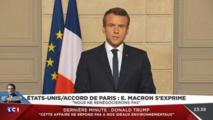Macron défie Trump, aux avant-postes de la lutte contre le réchauffement climatique