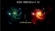 Les étoiles naissaient en nombre dans les galaxies primitives riches en gaz