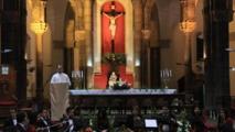 Les Chrétiens de Tunis célèbrent la messe de Noël