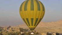 Egypte/Crash d'une montgolfière : Une touriste morte et 12 blessés