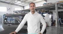 Omar Guiga,fabriquant de la voiture tunisienne « Wallyscar» lauréat du concours d'innovation organisé par le FMI