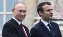 Syrie: Macron presse Poutine d'agir pour la Ghouta Est et Idlib