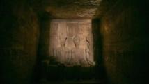 Egypte: Les rayons du soleil ont éclairé le visage de la statue Ramsès II