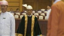 Win Myint élu nouveau président du Myanmar