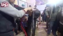 Soupçons de bombardement chimique à Douma, Trump menace