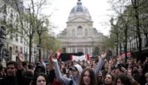 Intervention policière pour évacuer la Sorbonne