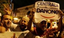 Des salariés de Centrale Danone manifestent à Rabat contre le boycott