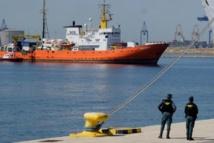 L'Aquarius est arrivé dans le port de Valence