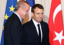 Macron félicite le président turc Erdogan pour son élection